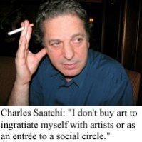 charles saatchi smoking