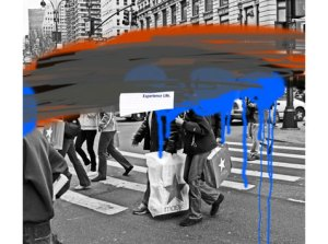 WE THE PEOPLE (EXPERIENCE LIFE), 2007 Inkjet ultrachrome archival print 111.8 x 127 cm