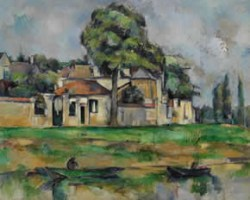 """Bords De La Marne"" by Cezanne"