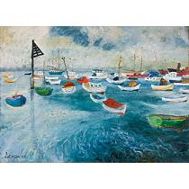 """Pleasure Craft"" by John Perceval"