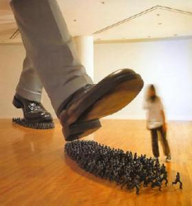 """Karma"" by Do-Ho Suh"