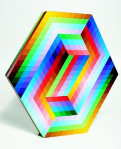 Lot 39, VICTOR VASARELY, 'Kedzi' 1990