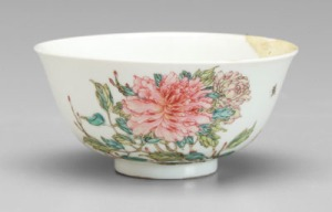 Chinese famille rose bowl - Sold for $115,000 against a $300 estimate at Brunk Auctions
