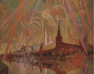 Victoire Feux d'Artifices, Moscow by Francis Barry