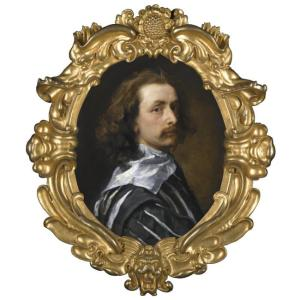 THE PROPERTY OF THE EARL OF JERSEY'S TRUST - SIR ANTHONY VAN DYCK ANTWERP 1599 - 1641 LONDON SELF PORTRAIT  2,000,000—3,000,000 GBP Lot Sold.  Hammer Price with Buyer's Premium:  8,329,250 GBP